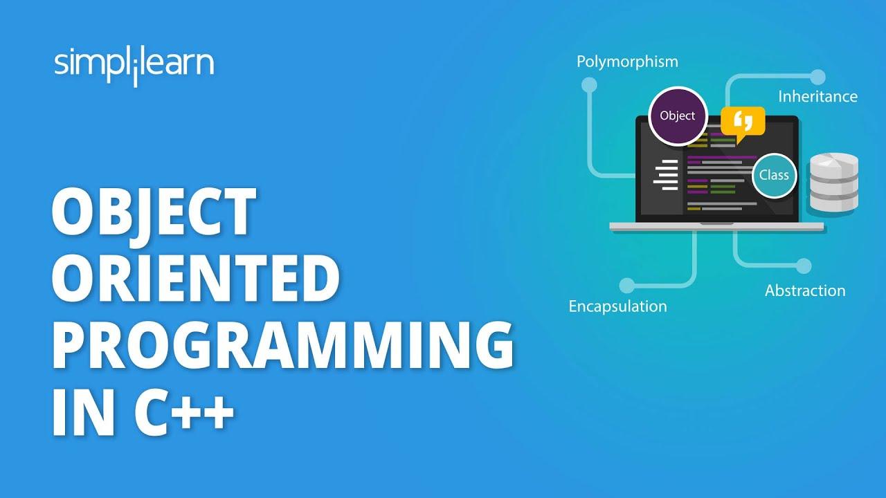 OOP In C++ +   Object Oriented Programming In C++   C++ Programming Tutorial