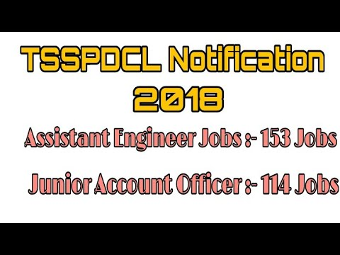 TS SPDCL Assistant Engineer Jobs Junior Accountant Officer Jobs