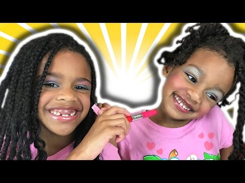 Bad Baby Dress Up Makeup Fail Freak Mommy Out