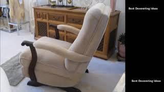 Upholstered Rocking Chair - High Back Upholstered Rocking Chair | Beautiful Pictures Ideas &