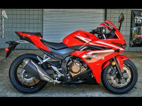 2016 Honda CBR500R Sport Bike | CBR Motorcycle Walk-Around Video (500cc) | Red CBR500 R / 500R