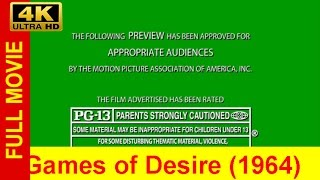 Games of Desire FuLL'MoVie'FREE (1964)