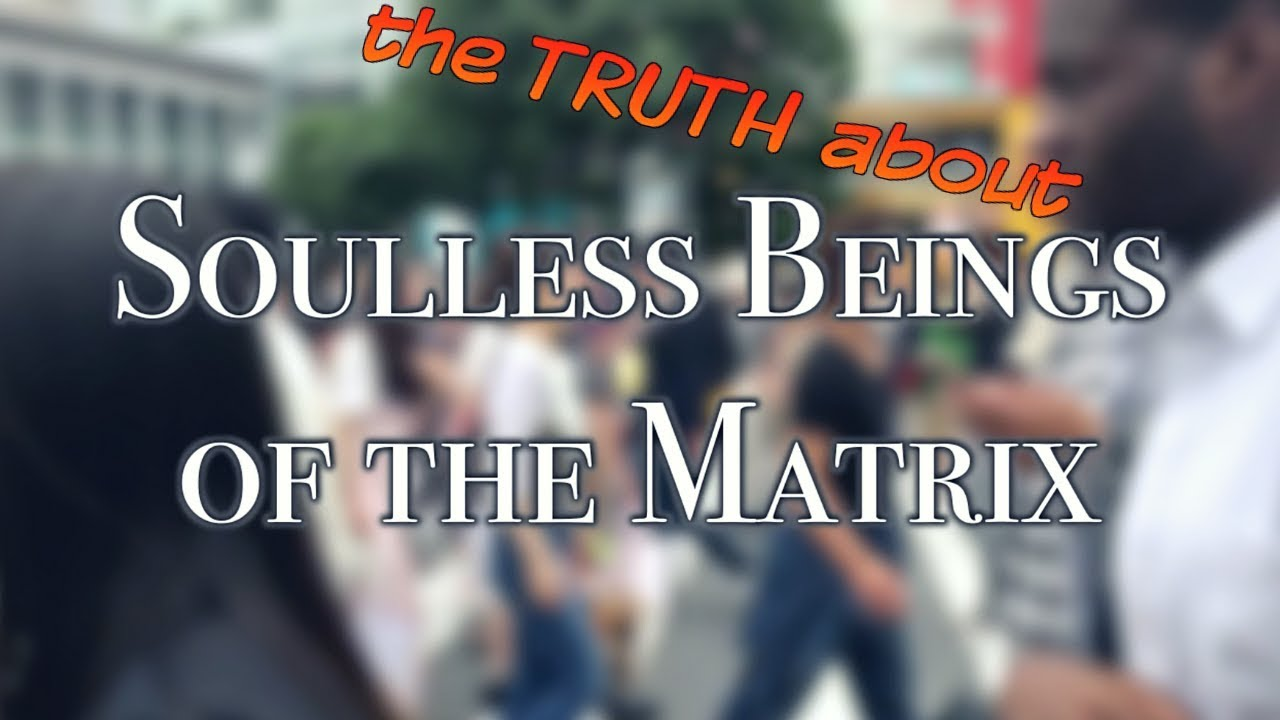 Soulless Beings of the Matrix: The TRUTH About Real NPC's