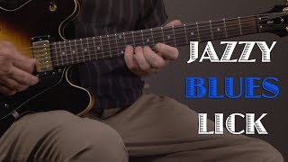 Jazzy Blues Guitar Lick Lesson