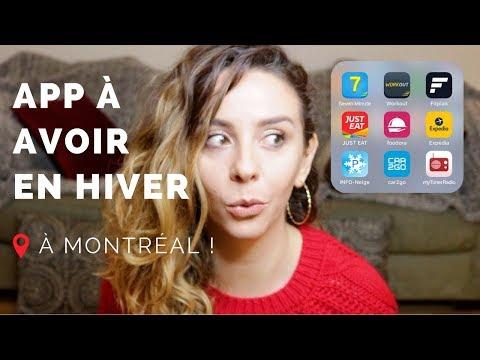 TOP 5 APPLICATIONS UTILES EN HIVER À MONTRÉAL   ALLO ANAIS