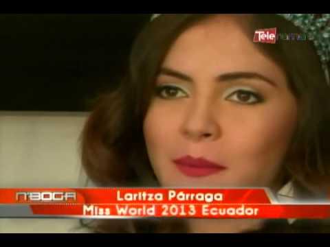 Laritza Párraga Miss World 2013 Ecuador