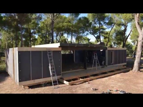 Popup House - DIY passive house building