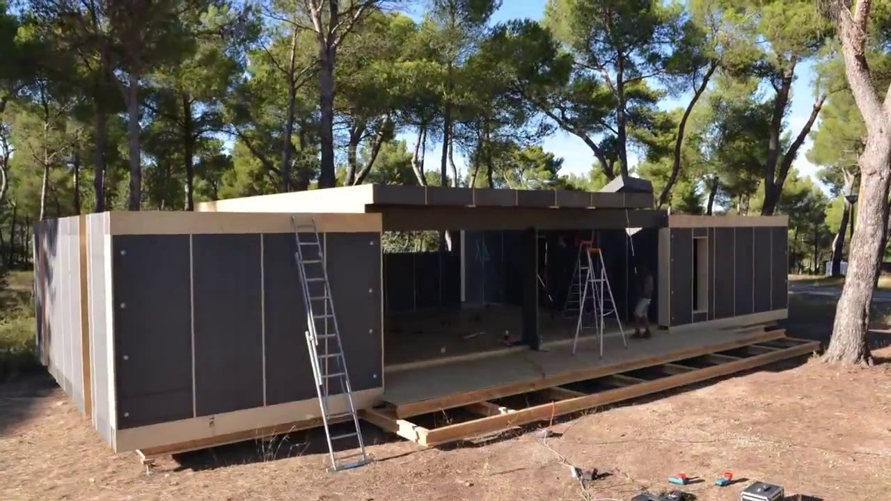 Popup House Diy Passive House Building Youtube