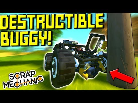 CRASHABLE CAR, FLYING RV, DUMP TRUCK, and MORE! [Your Best Builds 6] - Scrap Mechanic Gameplay