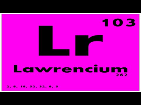 lawrencium periodic table - photo #29