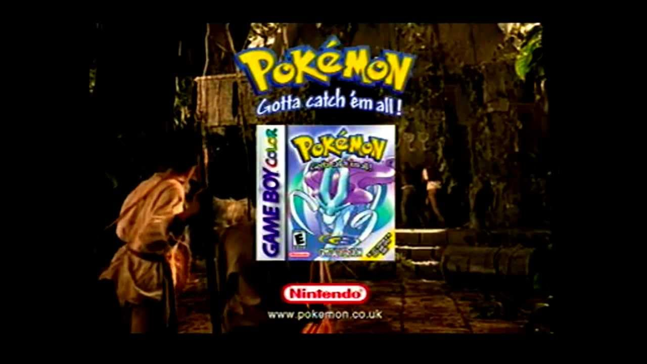 Gameboy color ad - Pok Mon Crystal Game Boy Color Tv Commercial Retro Anime Versus