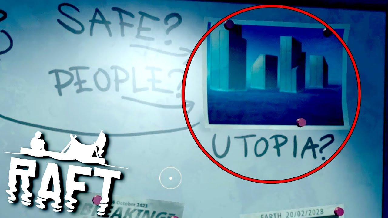 SEARCHING FOR UTOPIA! - Raft Multiplayer Gameplay Ep5