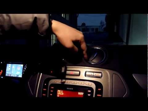 Снятие дефлектора Ford Mondeo 4