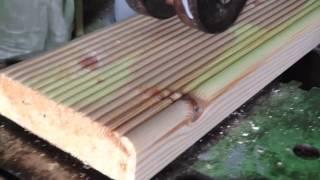 террасная доска(Изготовление террасной доски., 2016-04-12T10:32:09.000Z)