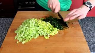 Салат с Сельдереем от Running Cheff