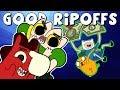 GOOD Cartoon Ripoffs