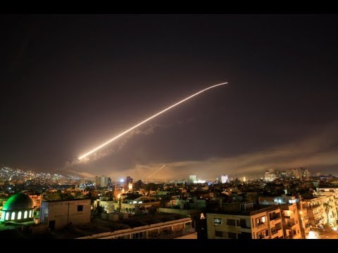 BREAKING: US BOMBS SYRIAN CAPITAL