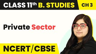 Private Sector - Public, Private and Global Enterprises | Class 11 Business Studies