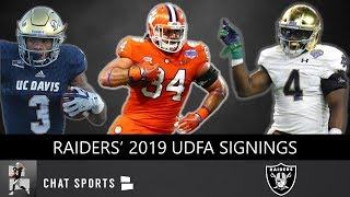 Raiders' UDFA Tracker: Here Are All The UDFAs Oakland Signed After The 2019 NFL Draft