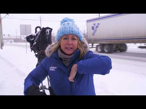 Lands' End Expedition Parka: Field Tested By The Weather Channel® Field Producer Trish Ragsdale