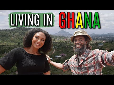 LIVING IN GHANA   WHY HE LEFT AMERICA TO BUILD A HOUSE IN AFRICA   Cost of Land & Building in Ghana