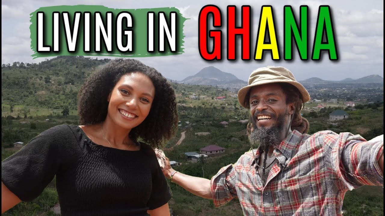 LIVING IN GHANA | WHY HE LEFT AMERICA TO BUILD A HOUSE IN AFRICA | Cost of Land & Building in Ghana