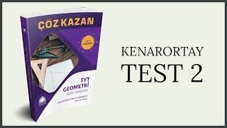 TYT GEOMETRİ SORU BANKASI KENARORTAY TEST 2