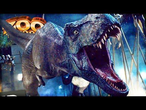 JURASSIC WORLD TYRANNOSAURUS REX KINGDOM | Zoo Tycoon 2