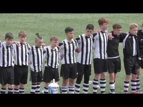 Risca Utd u14s vs Bangor - FAW Academy Final 01.05.17