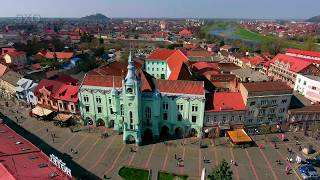 Города Украины - Мукачево. (Cities of Ukraine - Mukacheve) 4К Ultra HD - Видео