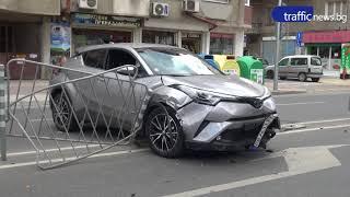 Жена е в болница след катастрофа в Пловдив