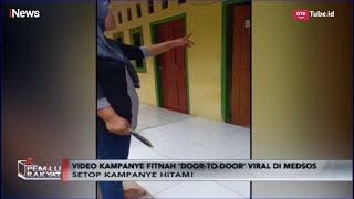 Viral! Kampanye Hitam Ibu-ibu di Karawang, Pelakunya Pendukung Prabowo - Pemilu Rakyat 26/02