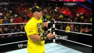 WWE Raw 01/04/2013 - 1st April 2013 - Part 1