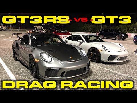 Porsche 911 GT3 VS GT3 RS Drag Race: Worth The Premium?