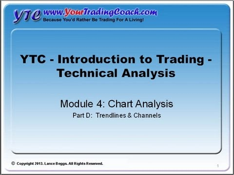 YTC Intro to Technical Analysis (Module 4D) - Chart Analysis - Trendlines and Channels
