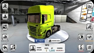 Euro Truck Driver V1.4.0 Mod Unlocked Apk 2016