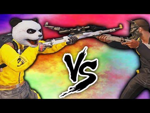 1 Vs 1 SNIPER ONLY | PANDA Vs PLAYER ONE | PUBG MOBILE