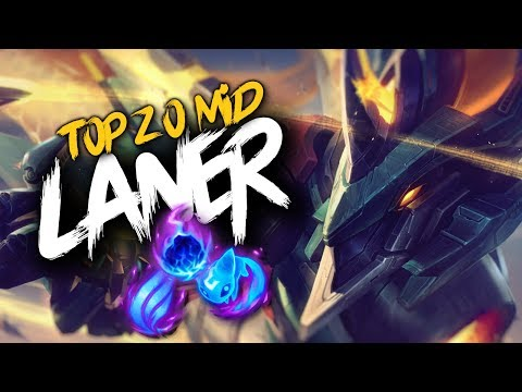 Top 20 MID LANER Plays #16 | League Of Legends