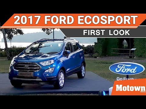 First Look of new Ford EcoSport SUV