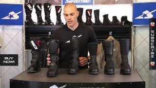 Sidi Adventure Touring Boots Overview from Motorcycle-Superstore.com