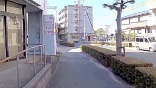 JR三河安城駅在来線改札口からホテルクレアトゥールまでの動画です。 ...