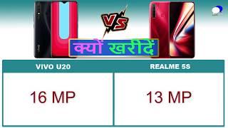 Vivo U20 vs Realme 5S Detailed Comparison and Reasons to Buy