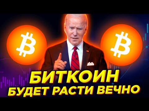 СУМАСШЕДШАЯ ПРАВДА ПРО БИТКОИН: Криптовалюта будет расти вечно и станет лучшим финансовым активом