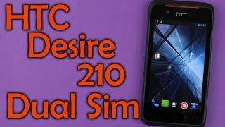 Распаковка HTC Desire 210 Dual Sim