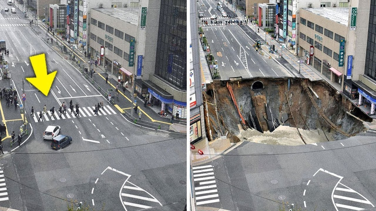 15 Largest Sinkholes Swallowing The Earth