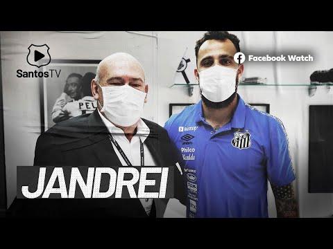 JANDREI É O NOVO GOLEIRO DO SANTOS FC