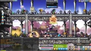 Maplestory GMS   5th Job Cannoneer Node Setup + Empress