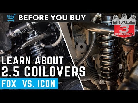 Before You Buy: F150 2.5 Inch Coilovers FOX Vs ICON