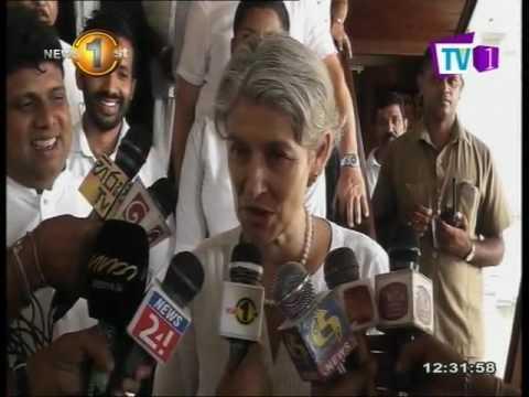 News1st : UNESCO Director General Irina Bokova visits Kandy