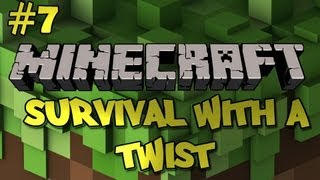 Minecraft Survival With a Twist Ep. 7 (Tower of Death Part 1)